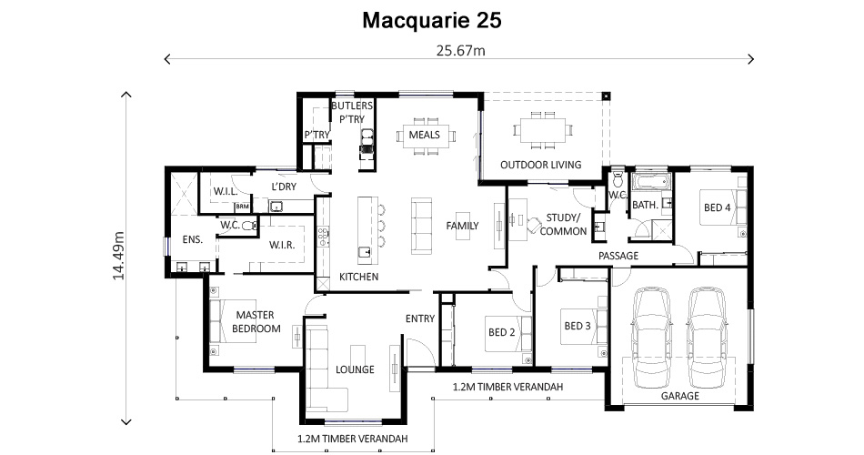 Macquarie 25A Floor Plan